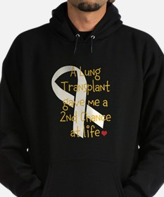 2nd Chance At Life (Lung) Hoodie (dark)