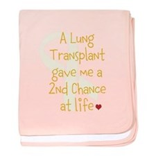 2nd Chance At Life (Lung) baby blanket