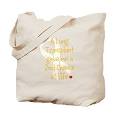 2nd Chance At Life (Lung) Tote Bag