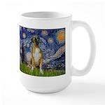 Starry / Boxer Large Mug