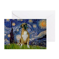 Starry / Boxer Greeting Cards (Pk of 10)
