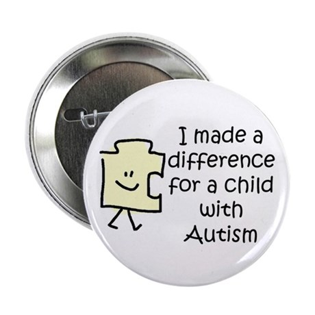"Made a Diff 4 Child \w Autism 2.25"" Btn (100"