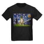 Starry / Boxer Kids Dark T-Shirt