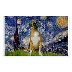 Starry / Boxer Decal