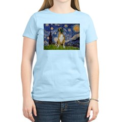 Starry / Boxer T-Shirt
