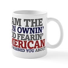 Proud gun owning American   Mug