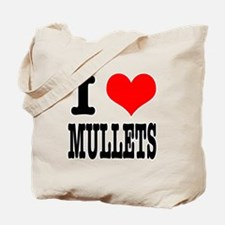 I Heart (Love) Mullets Tote Bag