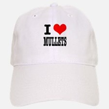 I Heart (Love) Mullets Baseball Baseball Cap