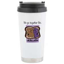 Peanut Butter and Jelly Travel Mug
