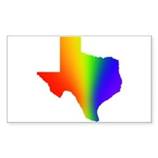 Texas 3 - Rectangle Decal