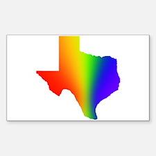 Texas 3 - Rectangle Decal