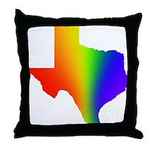 Texas 3 - Throw Pillow