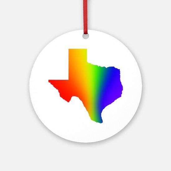 Texas 3 - Ornament (Round)
