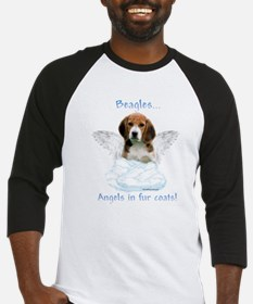 Beagle Angel Baseball Jersey