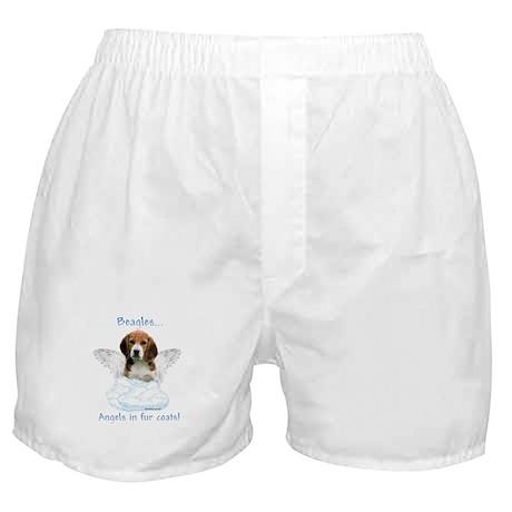 Beagle Angel Boxer Shorts