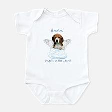 Beagle Angel Infant Bodysuit