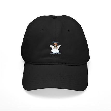Beagle Angel Black Cap