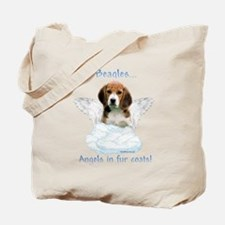 Beagle Angel Tote Bag