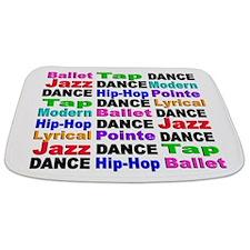 Dance Styles #2 Bathmat