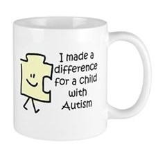 Made Difference For Child With Autism Mug