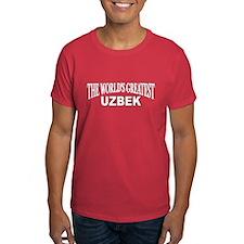 """The World's Greatest Uzbek"" T-Shirt"