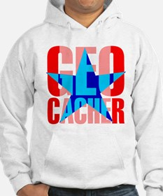 Star Geocacher Red Hoodie