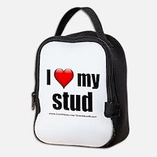 """Love My Stud"" Neoprene Lunch Bag"