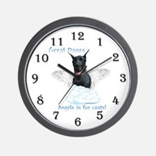 Dane(black) Angel Wall Clock
