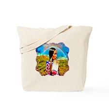 Crow Woman Tote Bag