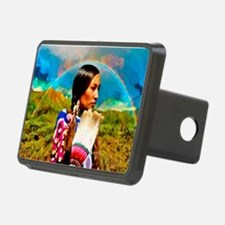 Crow Woman Hitch Cover