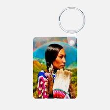 Crow Woman Keychains