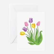 Tulips Plant Greeting Cards