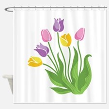 Tulips Plant Shower Curtain
