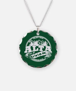 Alta Old Circle Green Necklace