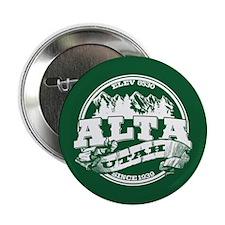 """Alta Old Circle Green 2.25"""" Button"""