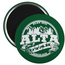 Alta Old Circle Green Magnet