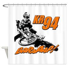 94 brap 2 Shower Curtain
