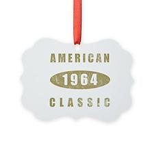 1964 American Classic (Gold) Ornament