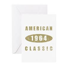 1964 American Classic (Gold) Greeting Cards (Pk of