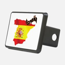 Flag Map of Spain Hitch Cover