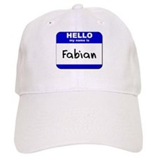 hello my name is fabian Baseball Cap