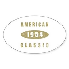 1954 American Classic (Gold) Decal
