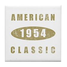 1954 American Classic (Gold) Tile Coaster