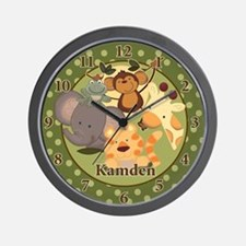 Jungle Clock - Kamden Wall Clock