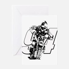 94 ghost white Greeting Cards