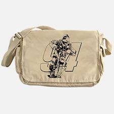94 ghost white Messenger Bag