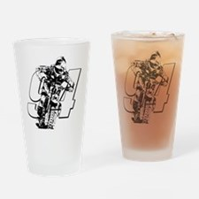94 ghost white Drinking Glass