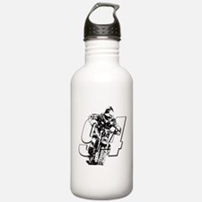 94 ghost white Water Bottle