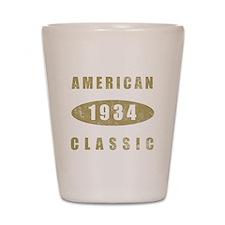 1934 American Classic (Gold) Shot Glass