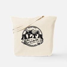 Alta Old Circle Black Tote Bag